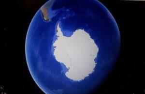 Antartide e i suoi ghiacciai.